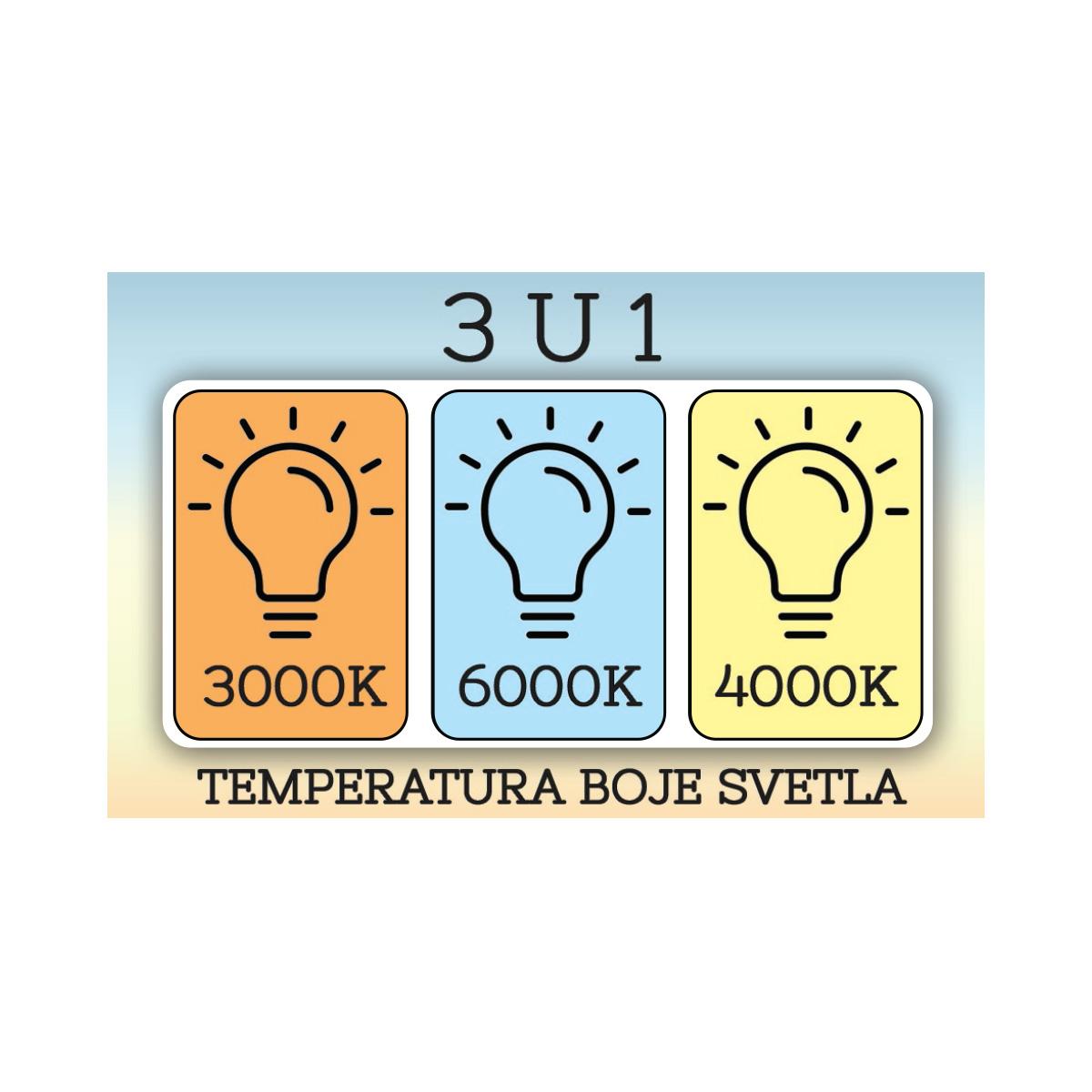 Led visilica 1.0153 siva