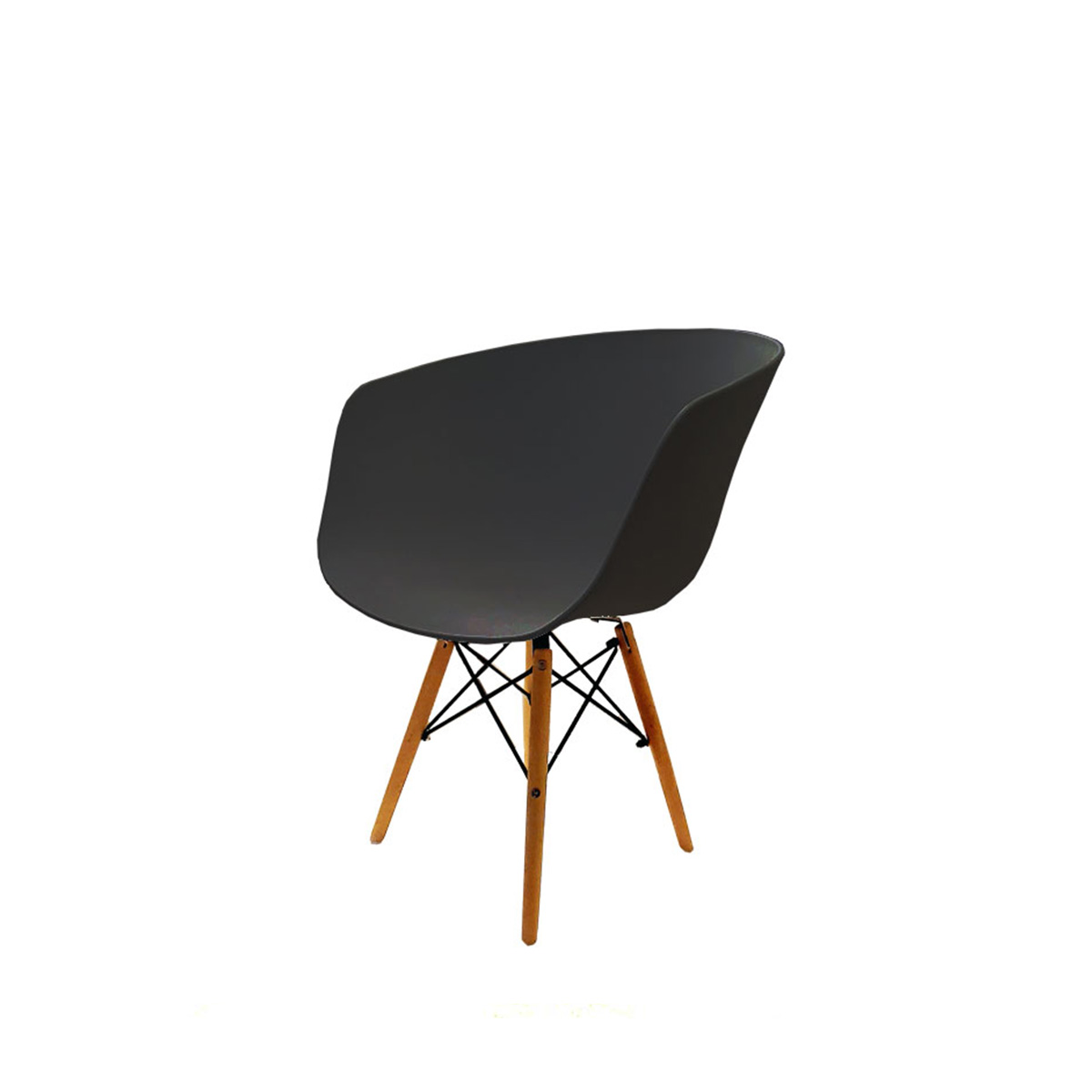 Stolica CHJ-205B crna