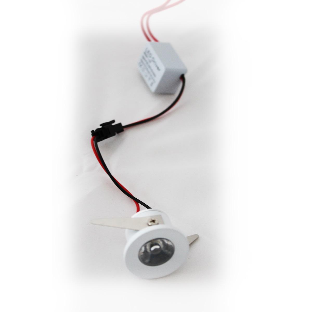 Ugradna LED svetiljka 1,5W MUC -038