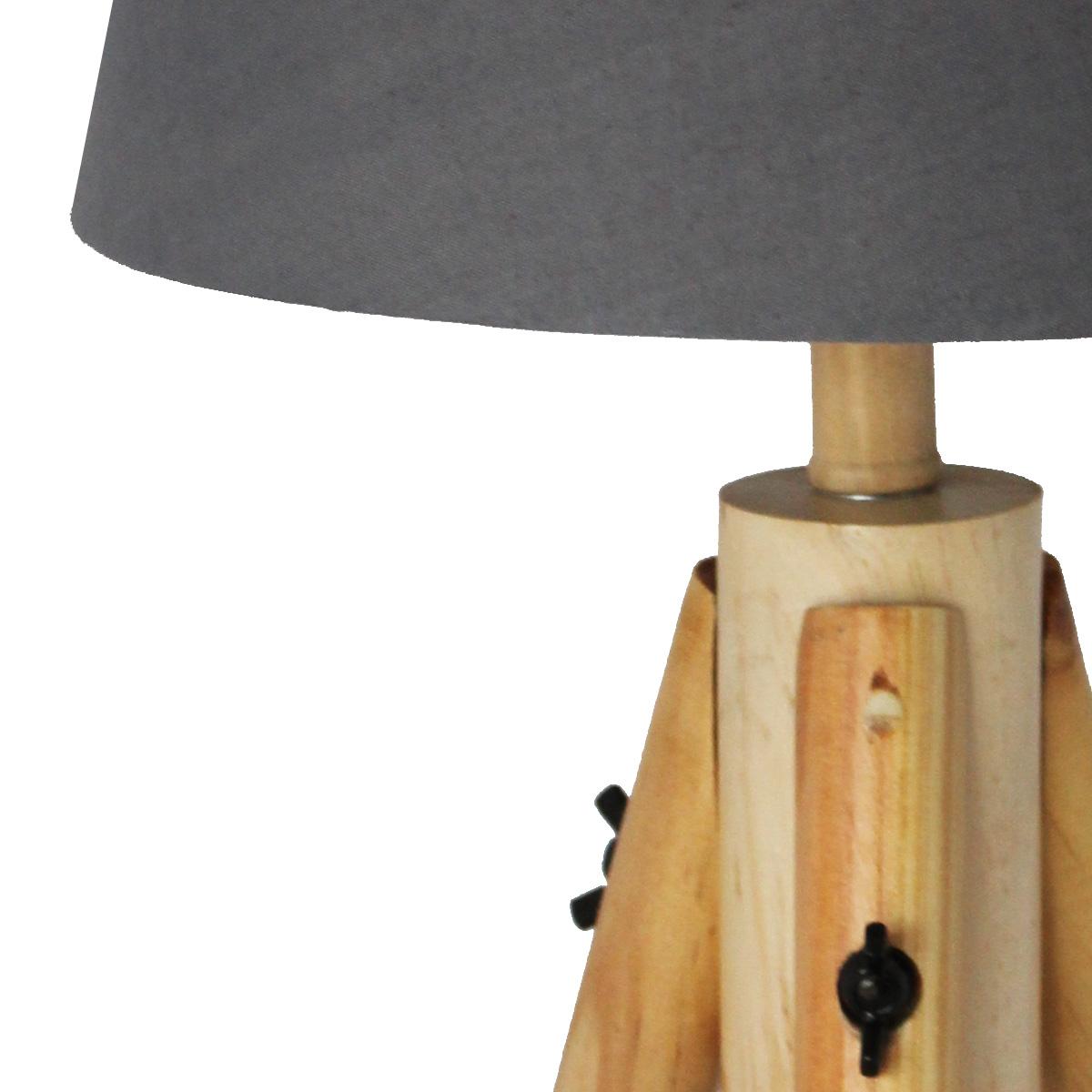 Stona lampa drvo MUS-181