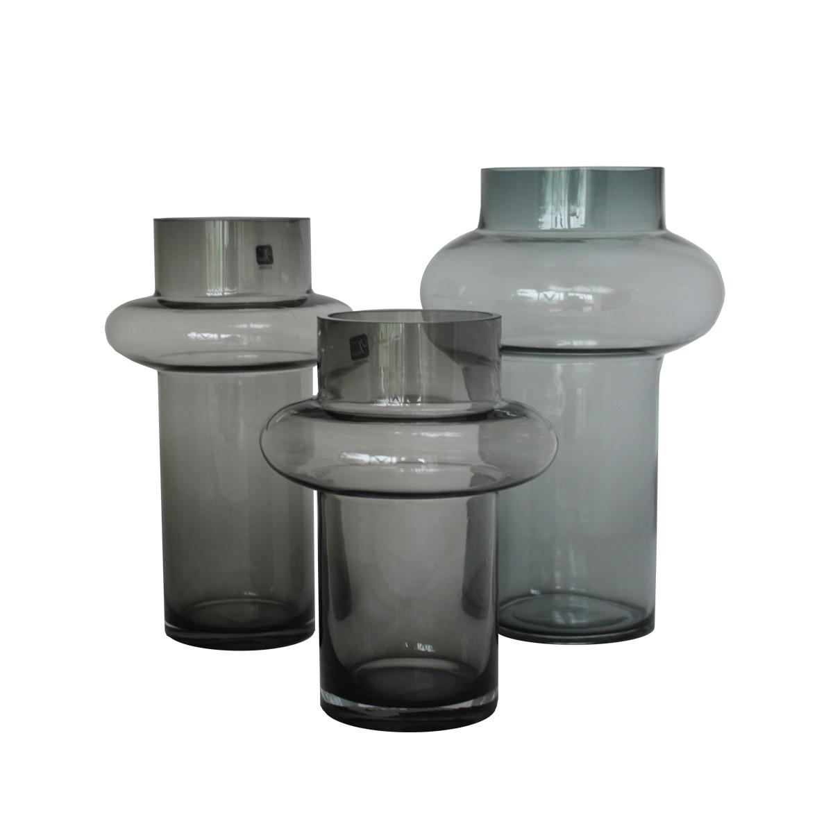 Vaza staklo Grey MUS-207