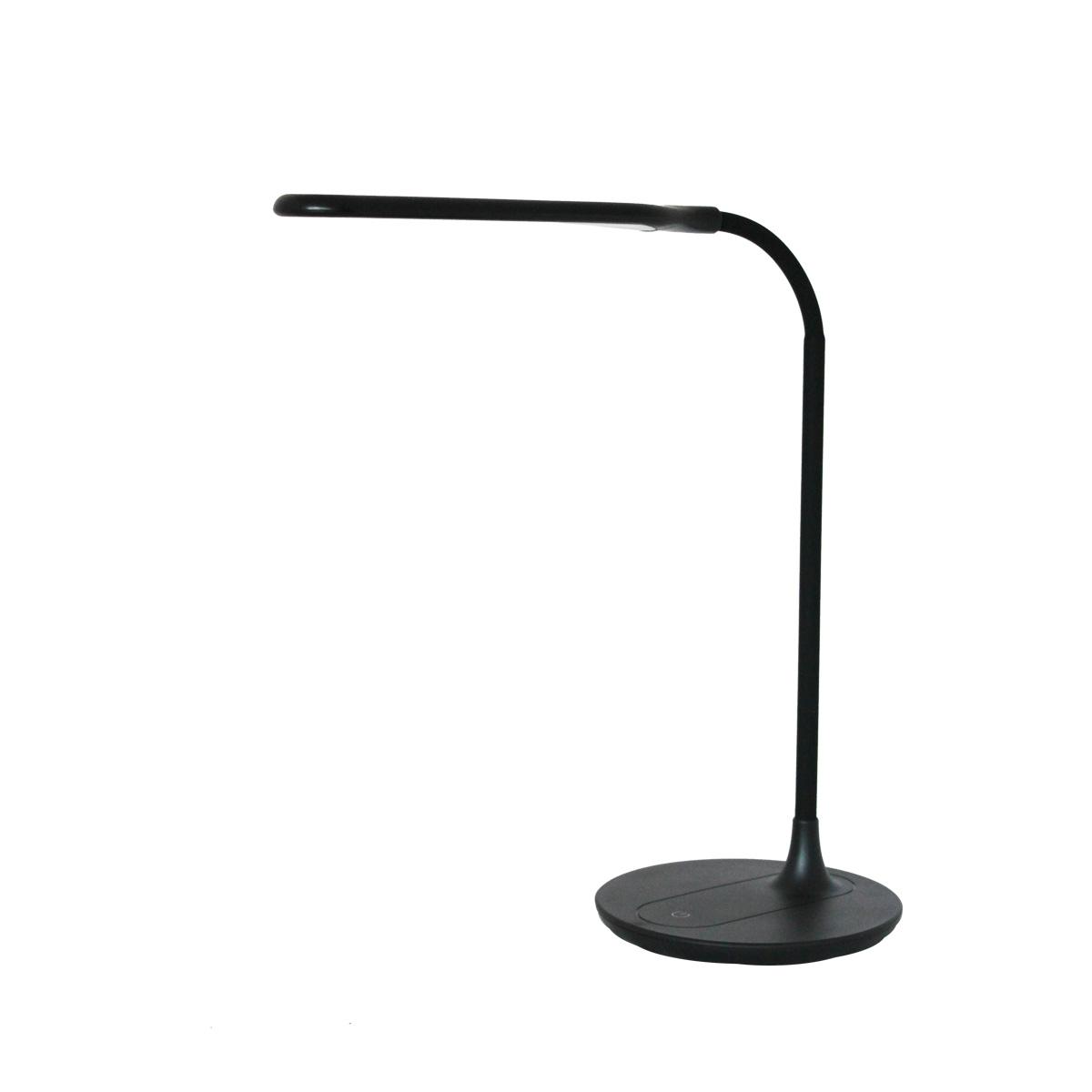 Stona radna LED lampa -crna AK-006
