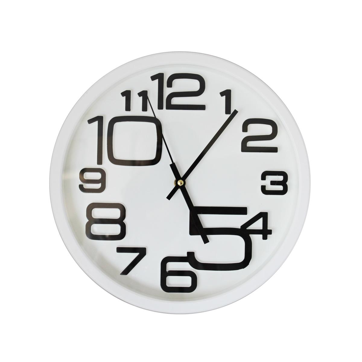 Zidni sat beli AK-052