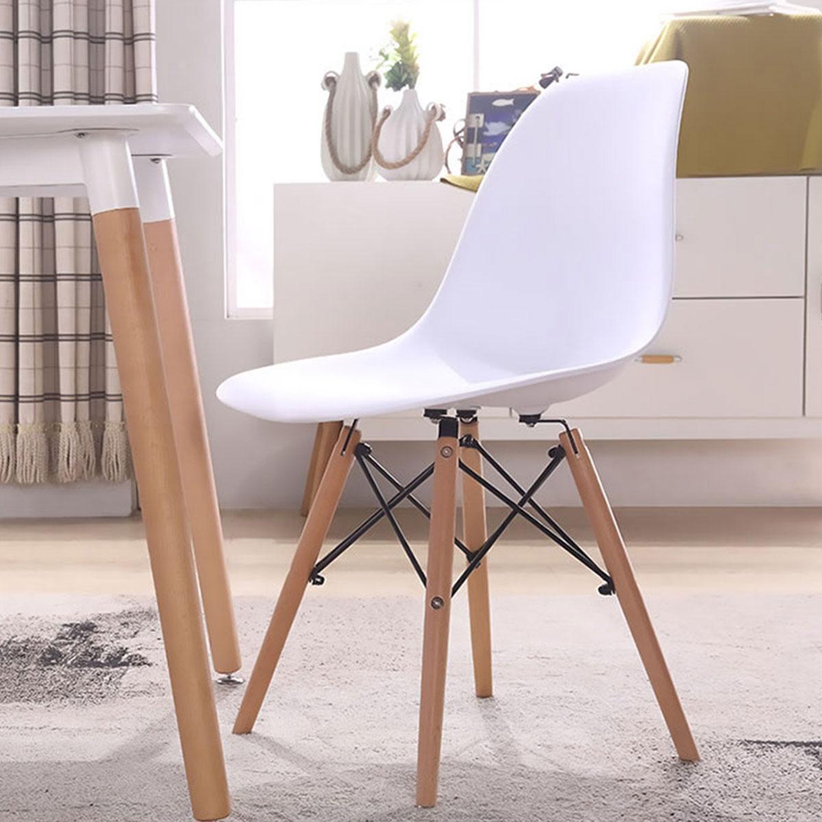 Plastična stolica bela MU19-002A