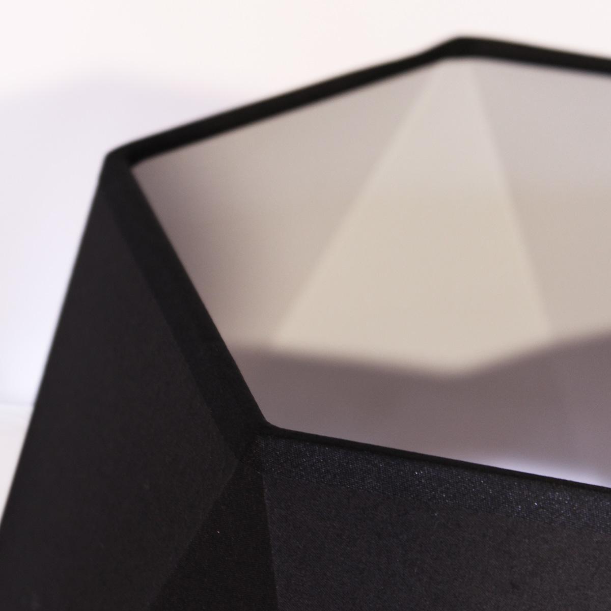 Stona lampa 1.0122 crno-zlatna