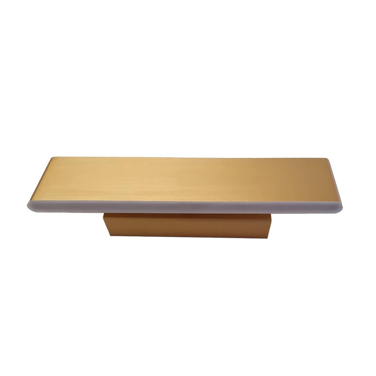 Led zidna lampa 1.0123 zlatna