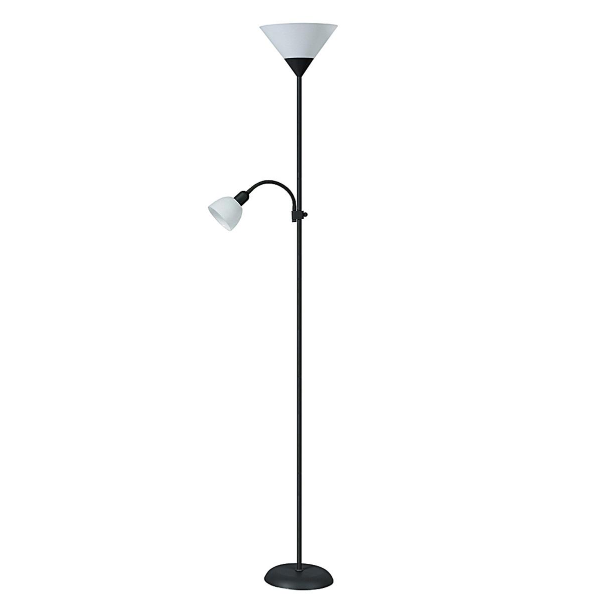 Podna lampa Action 4062 crna