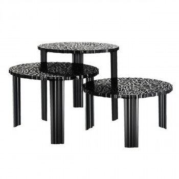 Klub sto T -Table 8501/NE crni