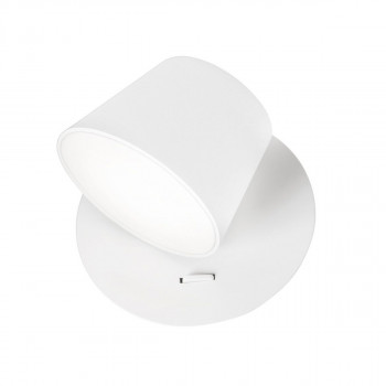 Zidna lampa Led AMADEO bela - 8223601